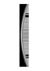 palladio composite door 600mm curved handle