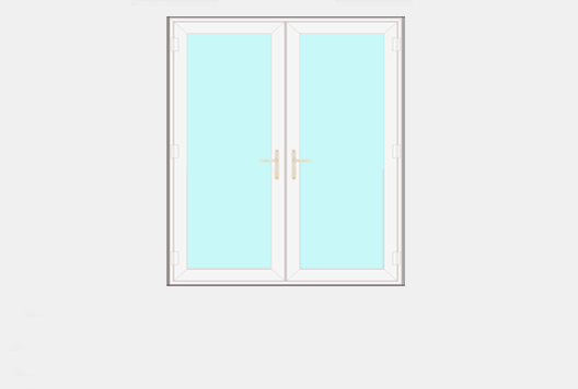 Online French Door Designer - Outside view