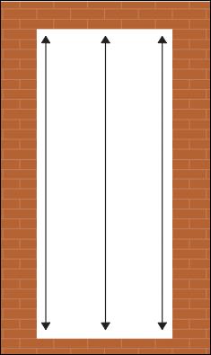 how to measure for a new door - measureing your door frame head to threshold