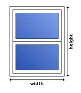 To measure for upvc Sash Windows we advise that you measure the brick to brick sizes and deduct 10mm overall.  Example – If the brick to brick sizes are – 800mm wide x 1100mm high. You would deduct 10mm from the width and height to make it 790mm wide x 1090mm high.  Please make sure that you are sure of your sash window measurements, as we  do not accept responsibility for incorrectly measured windows.